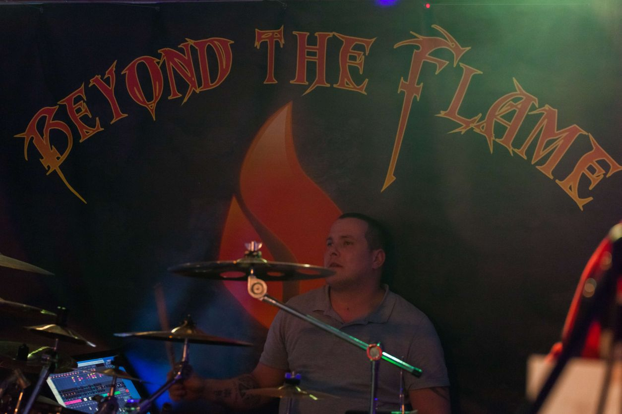 Metalband Coverband Beyond the Flame Livemusik Liveband Musik Rock Metal